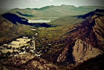 Rugged mountain ranges, spectacular wildflowers,ancient Aboriginal art. Gariwerdis Stunning.